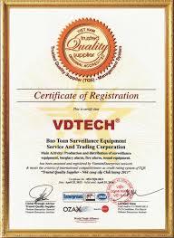 Bảo Toàn đón nhận Chứng Nhận Hệ Thống Quản Lý Chất Lượng ISO 9001 : 2008 (01-11-2012)